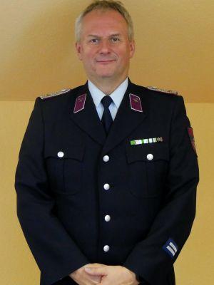 Brandmeister Enrico Weber - Leiter Atemschutz, Atemschutzgerätewart, Sicherheitsbeauftragter