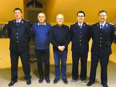 Freiwillige Feuerwehr Niederwürschnitz - Vorstand