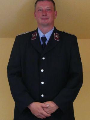 Brandmeister Sascha Siebert - Wehrleiter, 1. Gerätewart